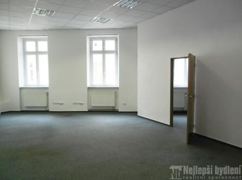 Pronájem kanceláře 2+kk 64 m2, Brno