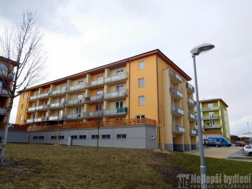 Prodej bytuDB 1+kk s terasou a garážovým staním, Šlapanice