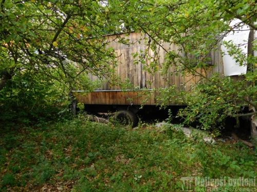 Prodej chaty a chalupy: Zahrada s maringotkou, Brno-Bystrc