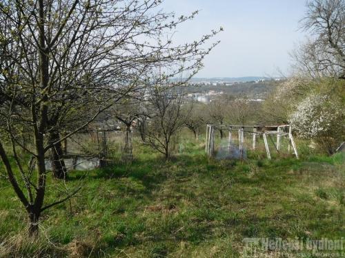 Nabízíme pěknou zahradu 1331 m2 s chatou v lokalitě Brno -Obřany
