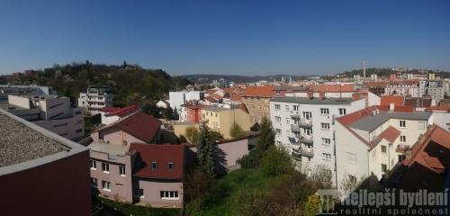 Novostavba bytu 2+kk, 75,7 m2,  Brno-Štýřice