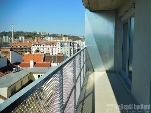 Novostavba bytu 3+kk, 75,7 m2,  Brno-Štýřice