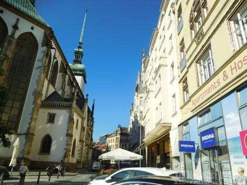 Pronájem bytu 2+kk, Jakubské nám., Brno-střed
