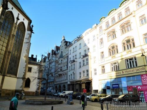 Bez realitkyPronájem bytu 2+kk, Jakubské nám., Brno-střed