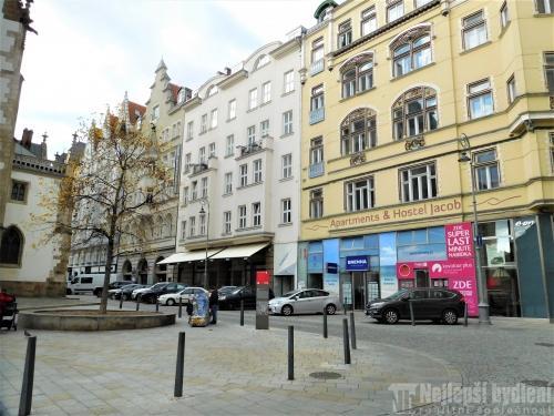 Pronájem bytu 1+1 Jakubské nám., Brno-střed