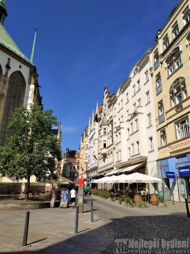 Pronájem bytuPronájem 3+1 Jakubské nám., Brno-střed